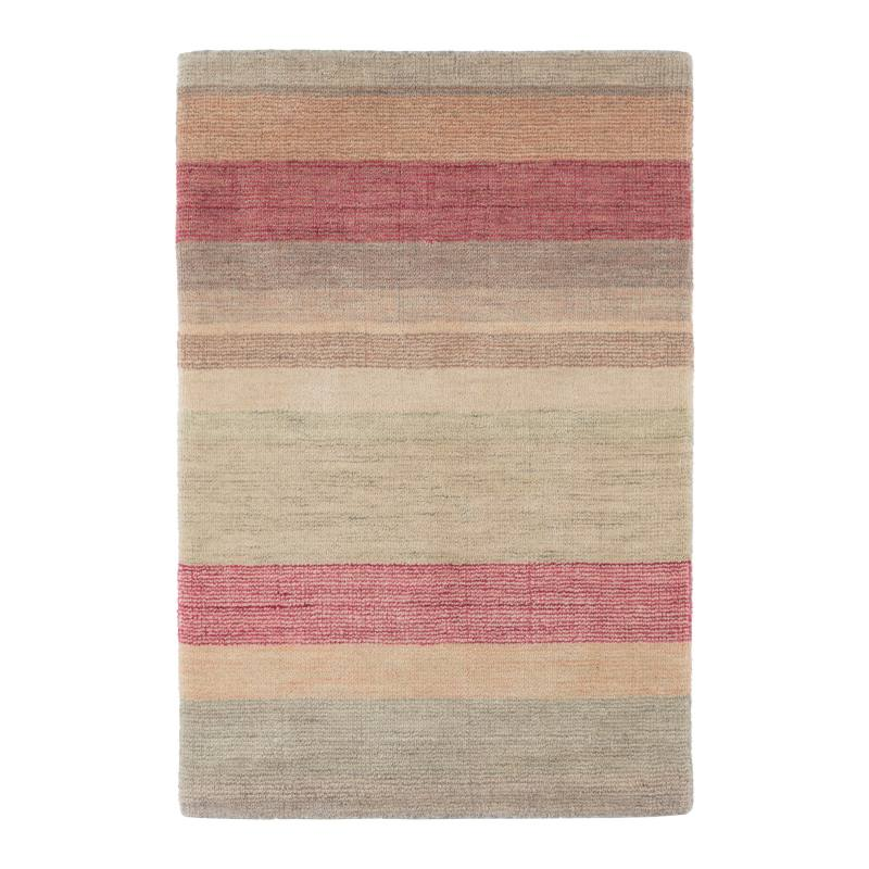 Tuscany Stripe Hand Knotted Wool Blend Rug