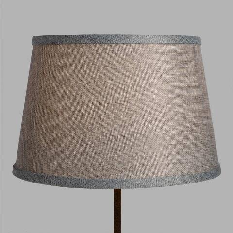 Gray Linen Accent Lamp Shade
