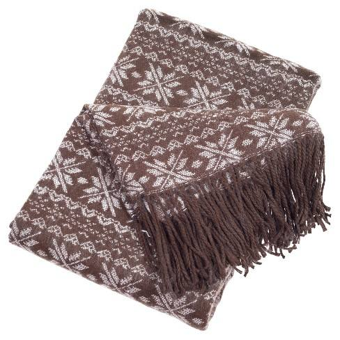 Brown Throw Blankets - Yorkshire Home
