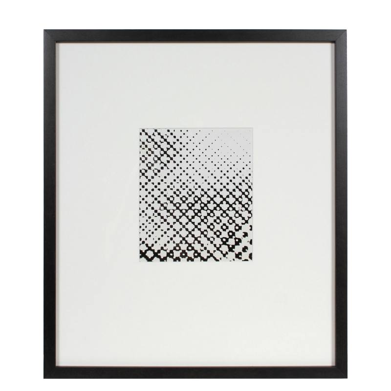"""Super Exposed Dot Screen"" by Barbara Lewis"