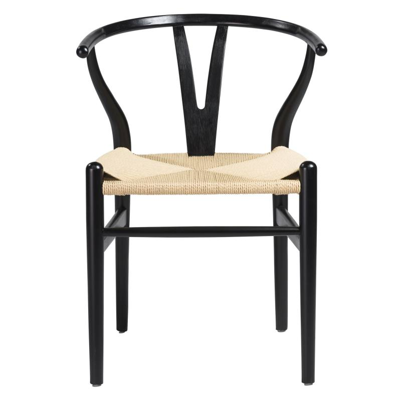 Cylia Dining Chair, Black (Set of 2)