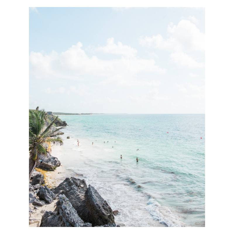 Carley's Camera Tulum Mexico Photography Print