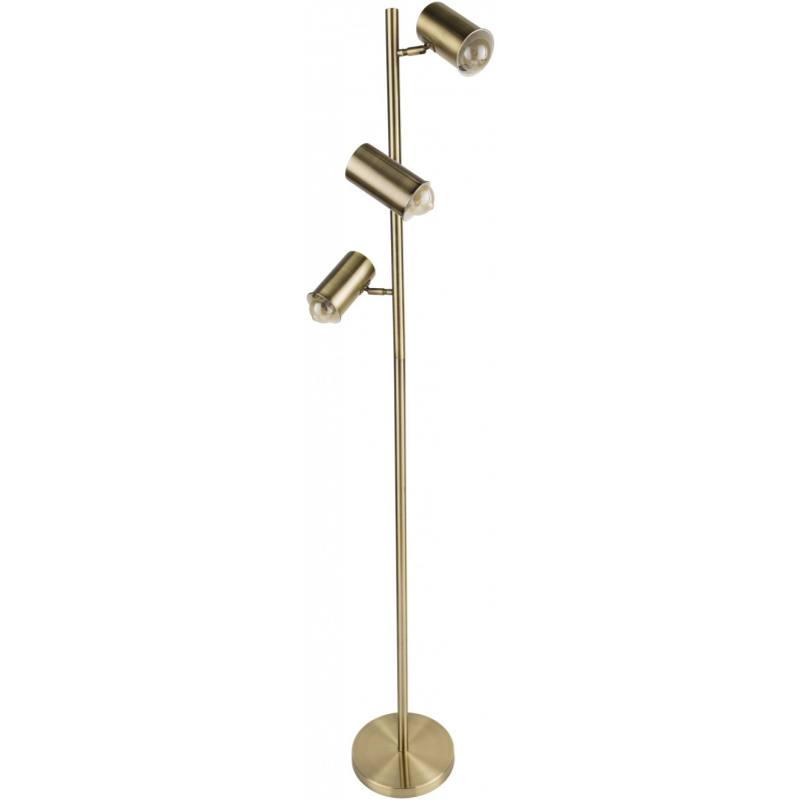 Zanna Floor Lamp, Gold