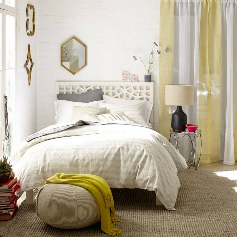 Morocco Bed - White