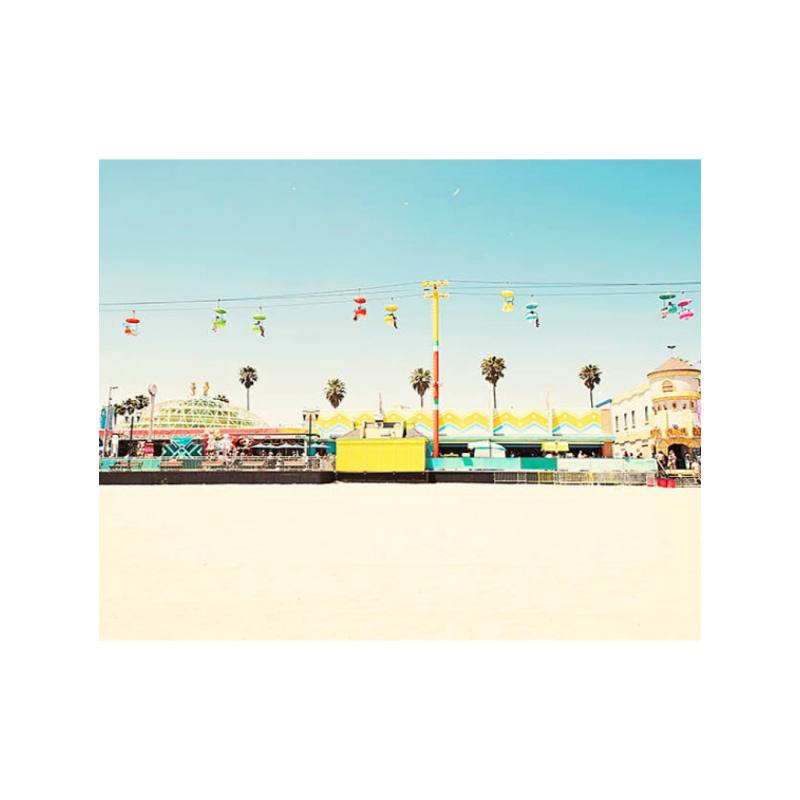 Bree Madden Beach Boardwalk Print