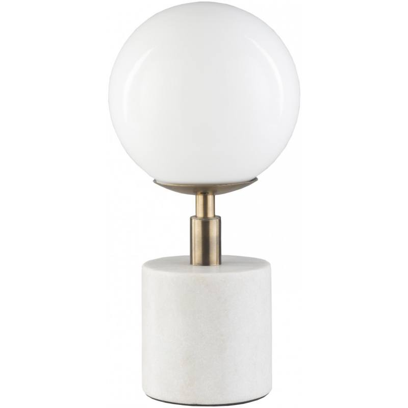 Edie Table Lamp, White