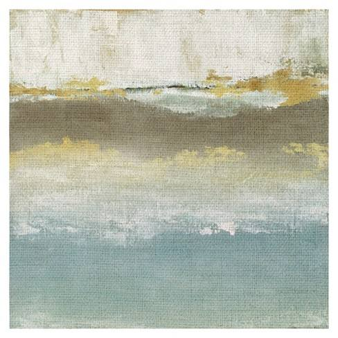 "35""x35"" Soft Place By Tava Studios Art On Canvas - Fine Art Canvas"