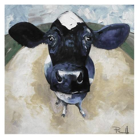 "24""x24"" Cow Tale Light By Sean Parnell Art On Canvas - Fine Art Canvas"