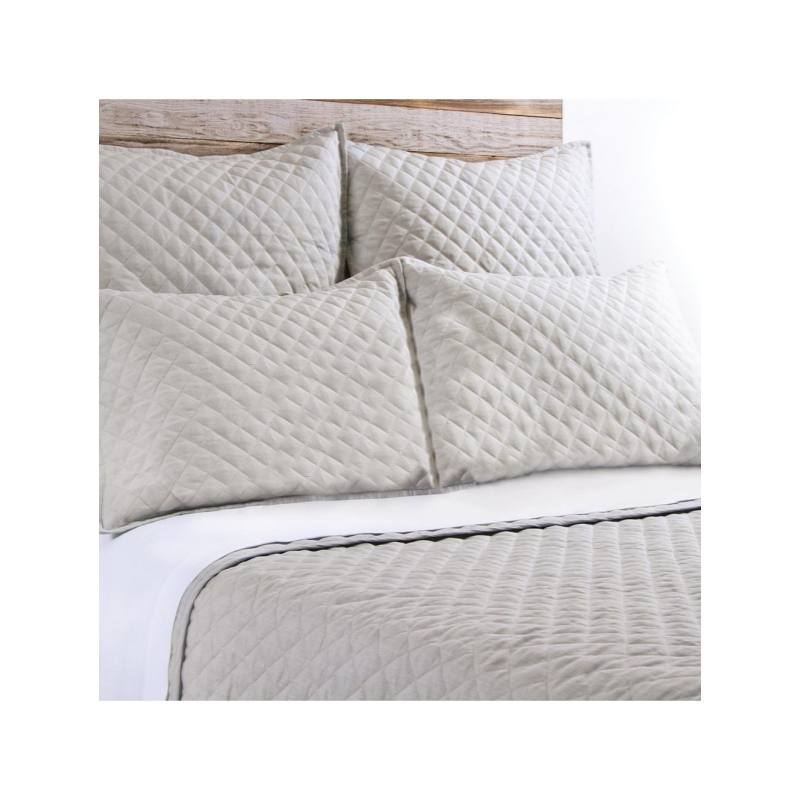 Pom Pom at Home Hampton Coverlet, Flax