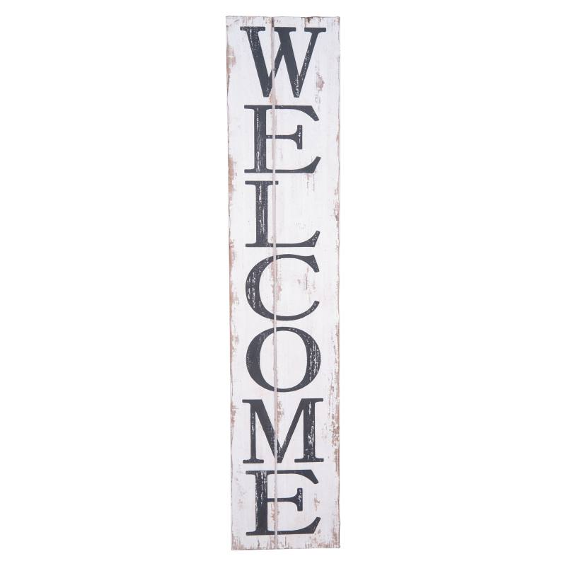 Welcome Wood Wall Art