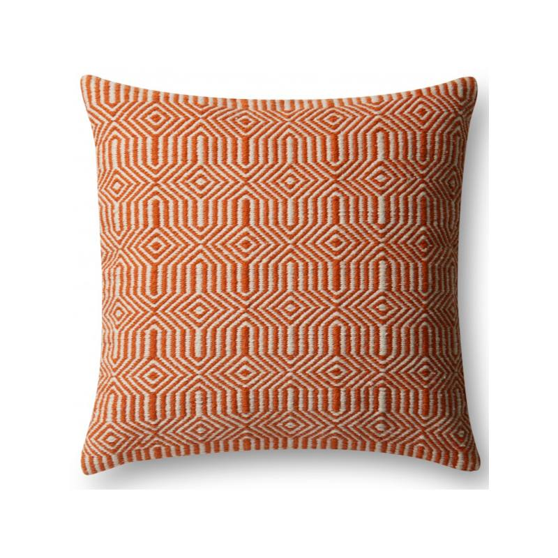 Kiara Indoor/Outdoor Pillow, Orange