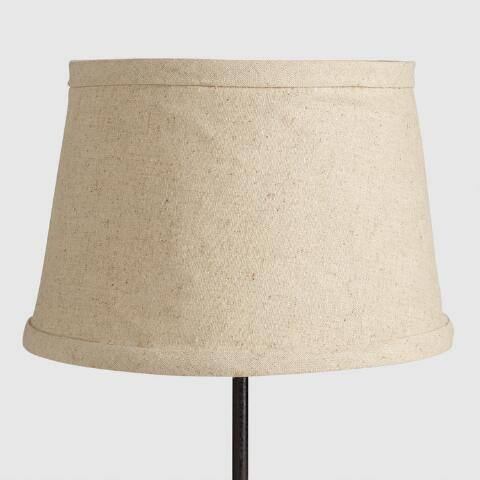 Collapsible Canvas Accent Lamp Shade