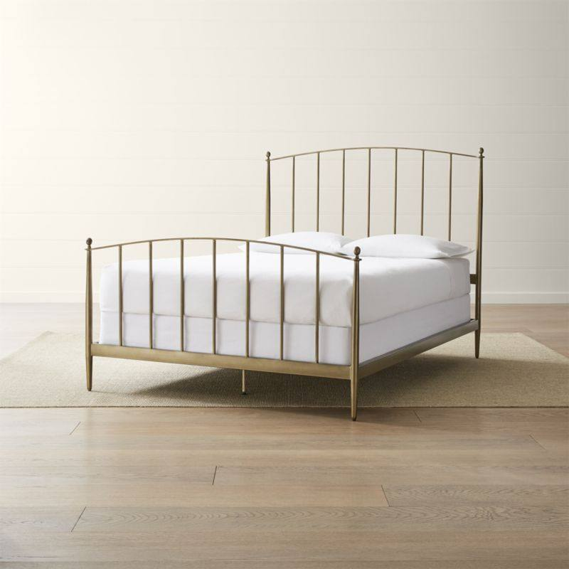 Mason Brass Bed