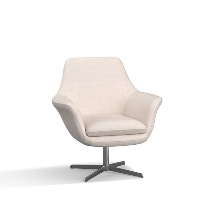 SoMa Jaxson Upholstered Swivel Armchair