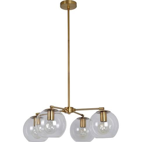 Menlo 4 Globe Chandelier Clear - Project 62�