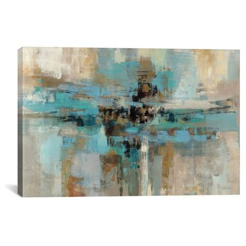 Morning Fjord by Silvia Vassileva Canvas Print