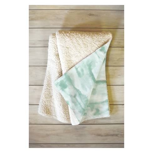 50 x 60 Jacqueline Maldonado Throw Blanket Green - Deny Designs