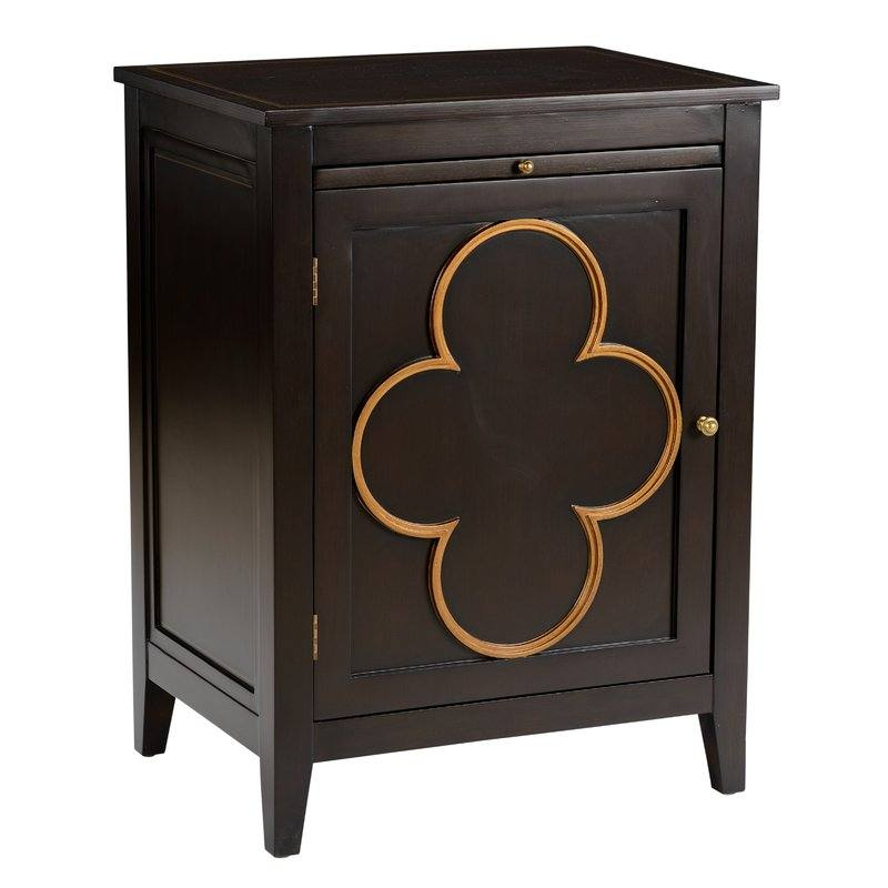 Quatrafoil 1 Door Right Accent Cabinet