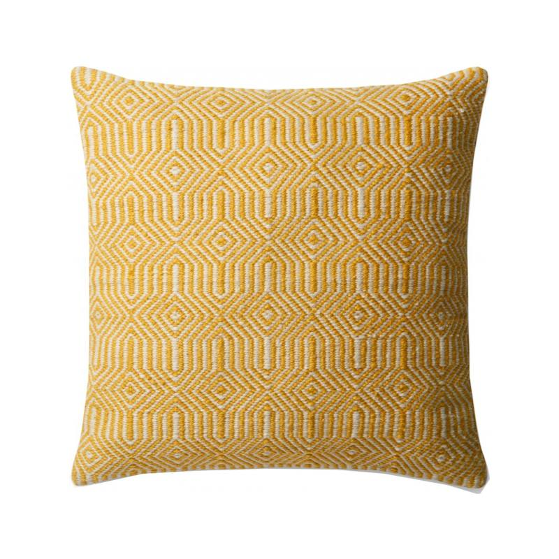 Kiara Indoor/Outdoor Pillow, Yellow