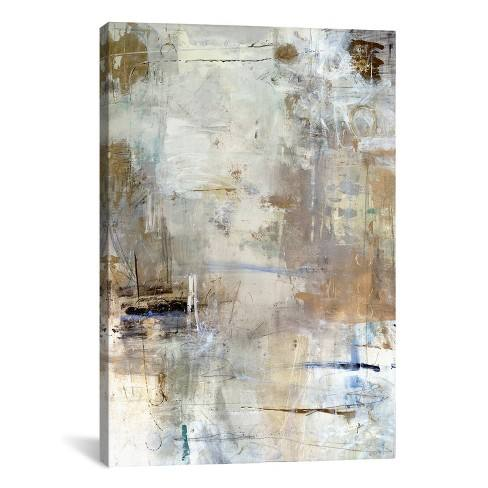 "40""x26"" Asking for White by Julian Spencer Unframed Wall Canvas Print Buff Beige - iCanvas"