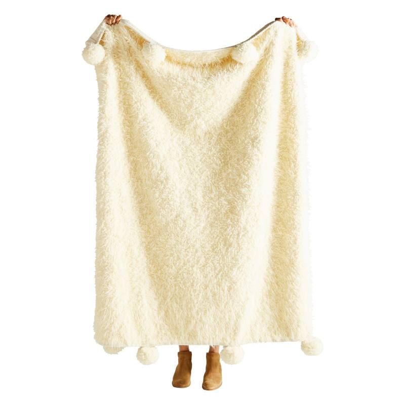 Bailey Faux Fur Throw Blanket