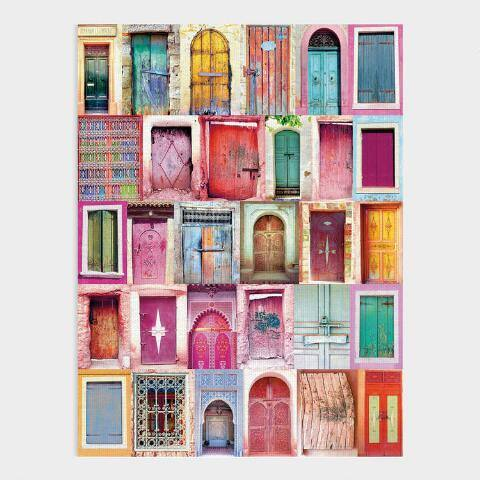 Global Doorways Canvas Wall Art