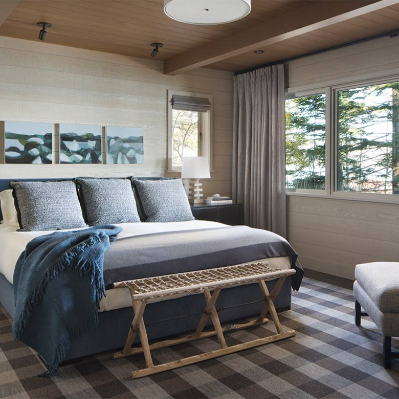 Country style master bedroom by j robin
