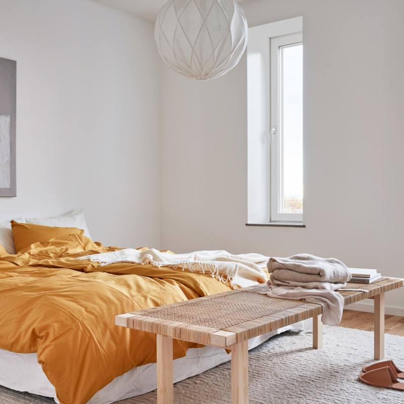 Scandinavian minimalist bedroom ideas