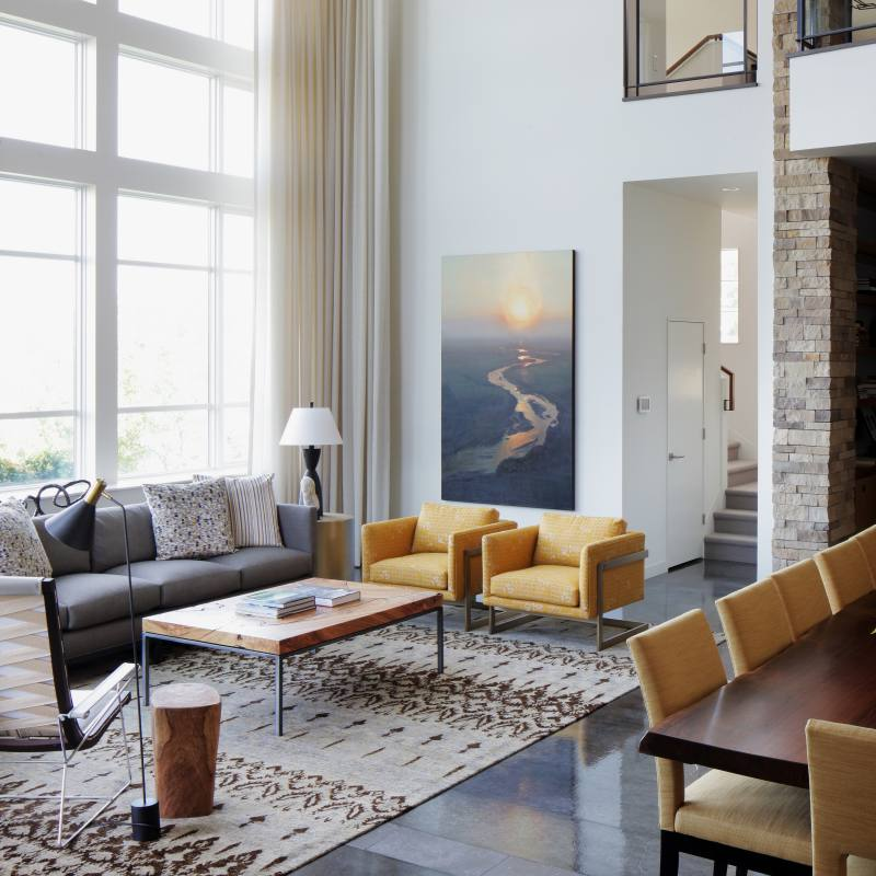 Get the look: Modern living room design