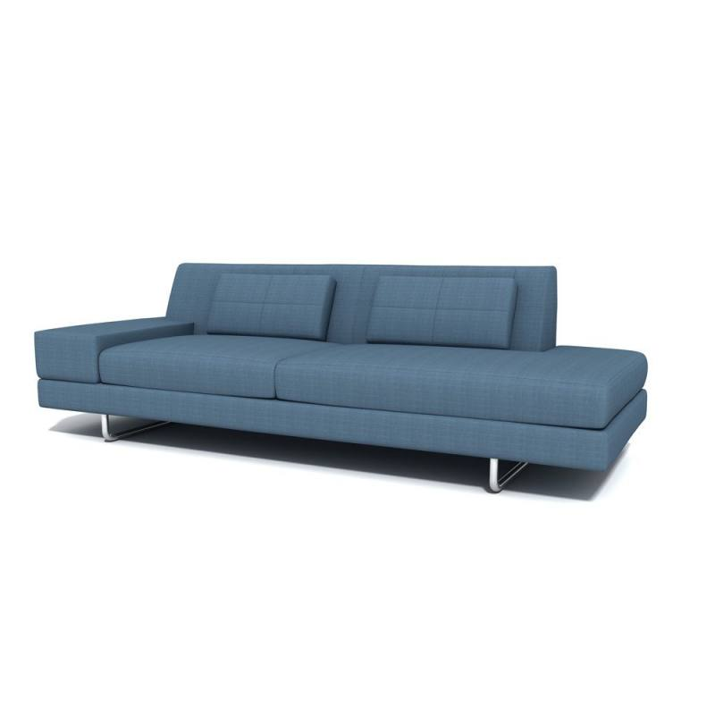 Hamiln One Arm Sofa with Chaise