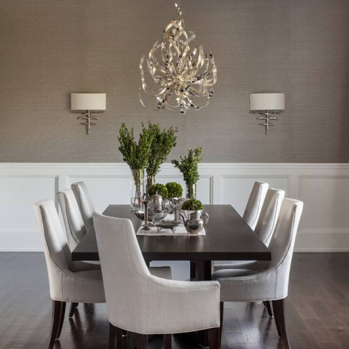 Traditional Formal Elegant Dining Room