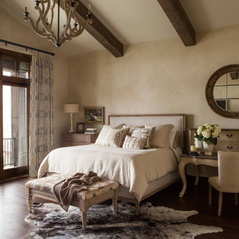 Get the look: Country style master bedroom by jeannie balsam bedroom