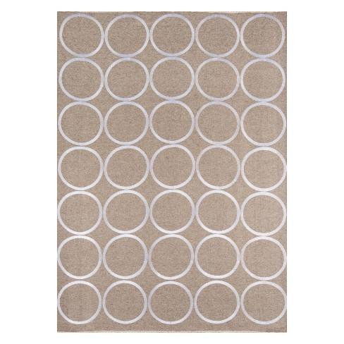 Cielo Verne Geometric Woven Accent Rug - Momeni