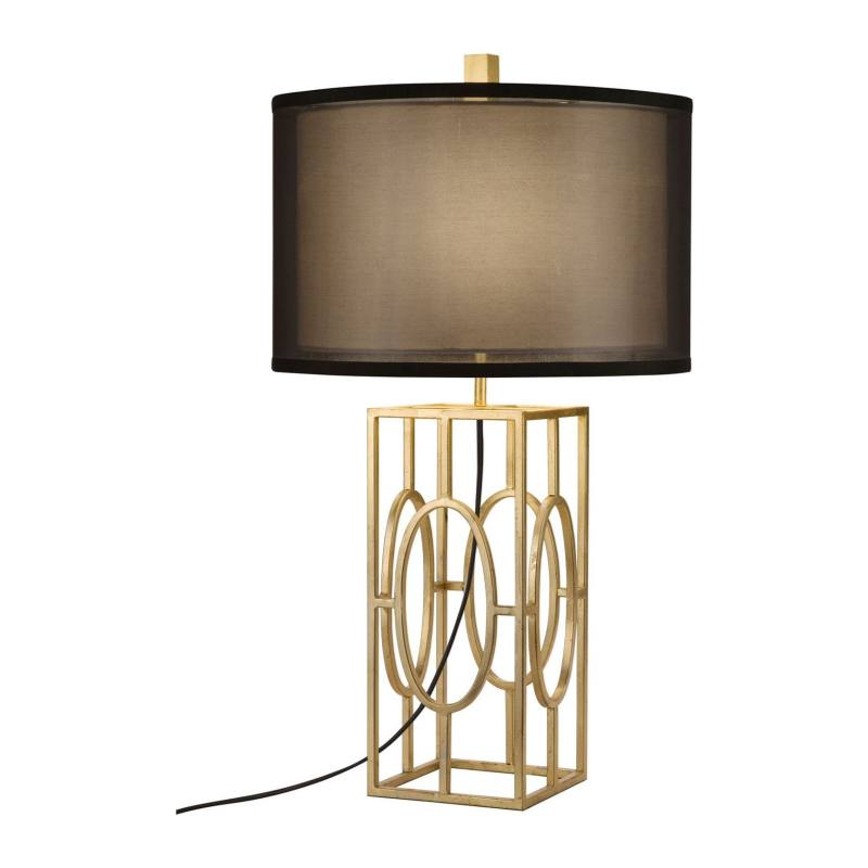 JAlexander Caged Gold Leaf Table Lamp
