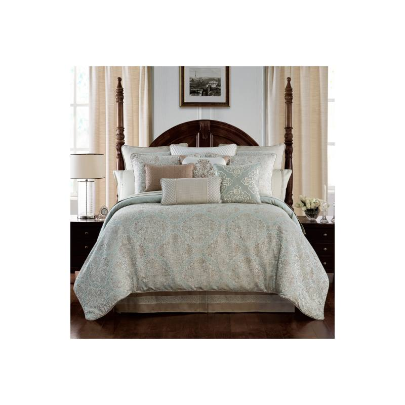 Gwyneth Reversible Comforter, Sham & Bedskirt Set