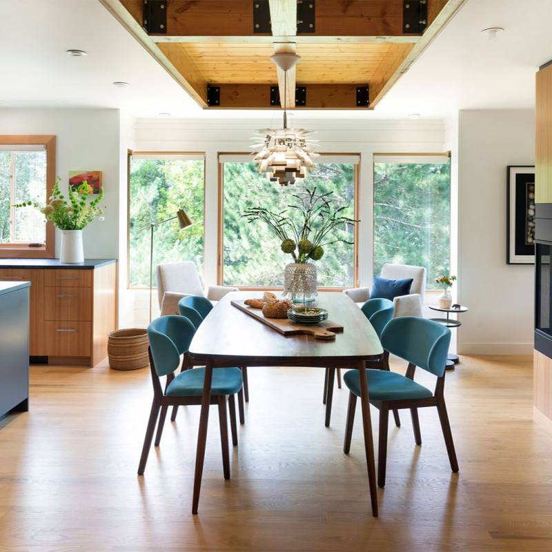 Get the look: Midcentury Modern Dining Room