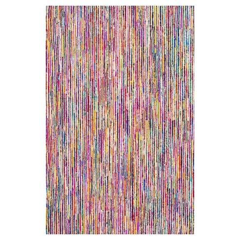 Hand Tufted Stripes Tillery Multi-colored Rug - nuLOOM