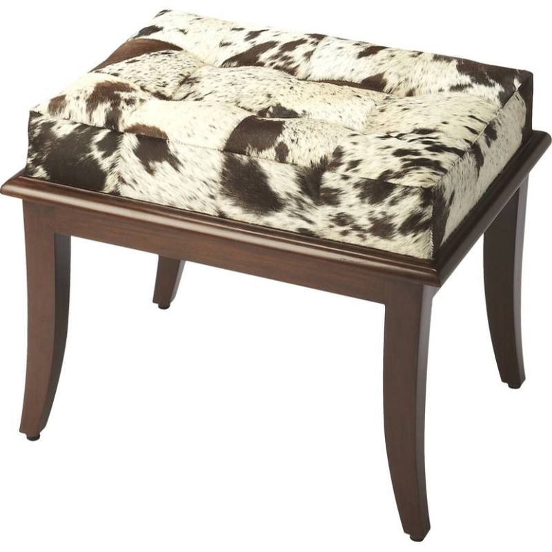 Cosmopolitan Dania Hair-On-Hide Stool