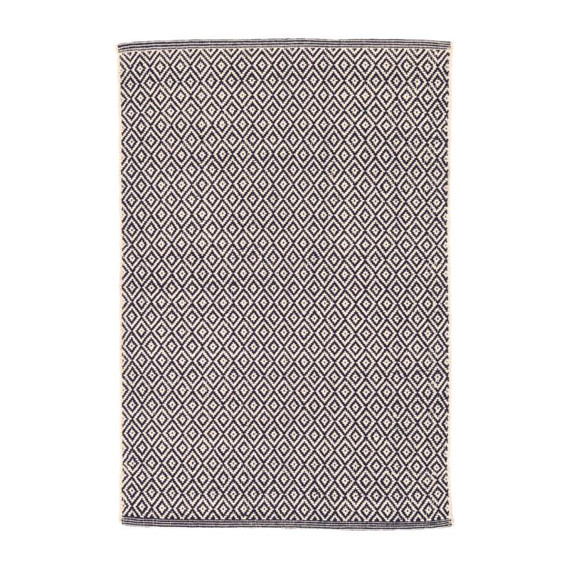 Lattice Handwoven Cotton Rug