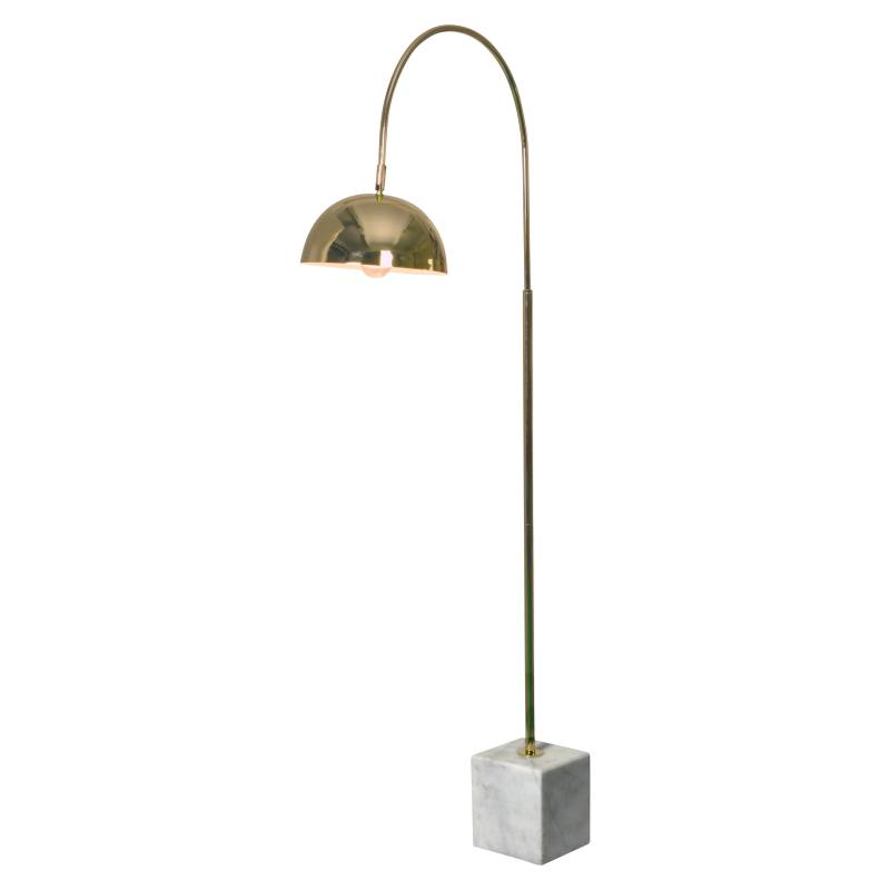 Polished Floor Lamp
