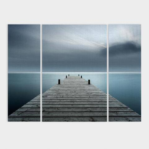 Overlooking Water Triptych Canvas Wall Art Set Of 3