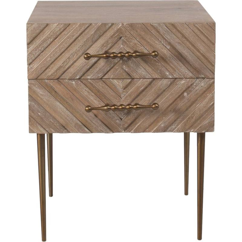 Etacle 2 Drawer Nightstand
