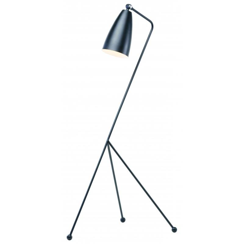 Shany Floor Lamp, Black