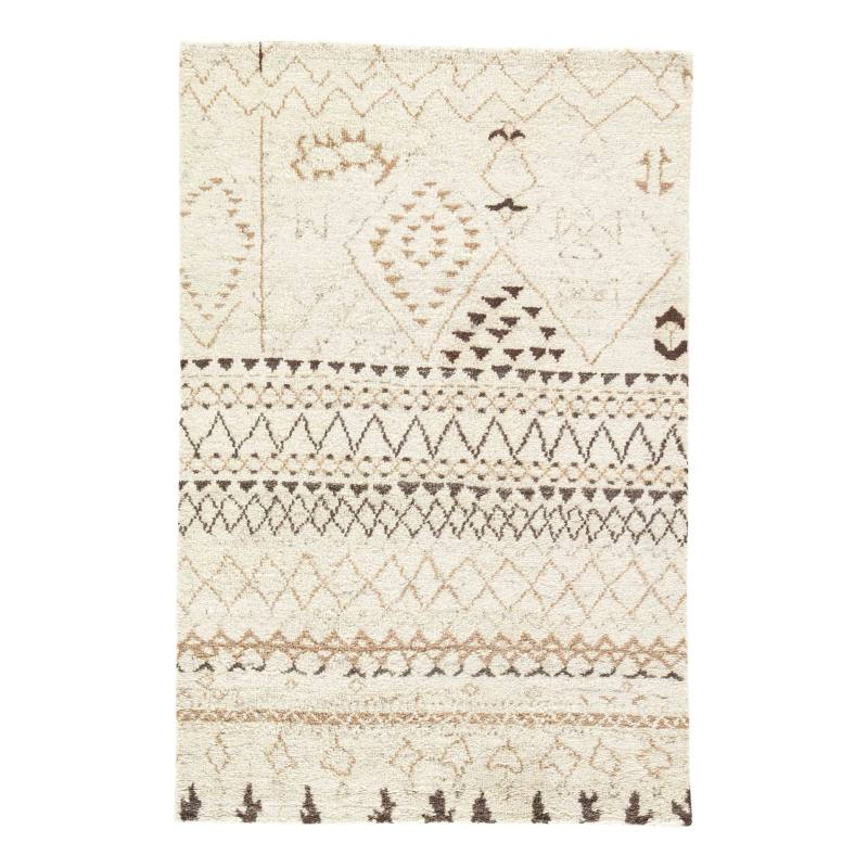 'Zola Zag' Wool Area Rug