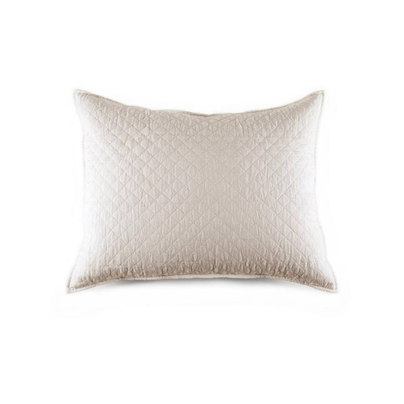 Pom Pom at Home Hampton Pillow, White