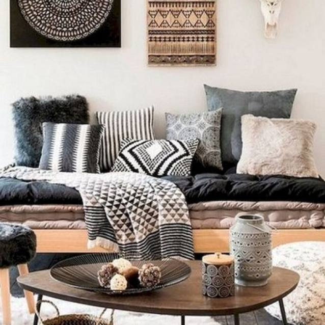 Best Modern Bohemian Living Room Decor Ideas