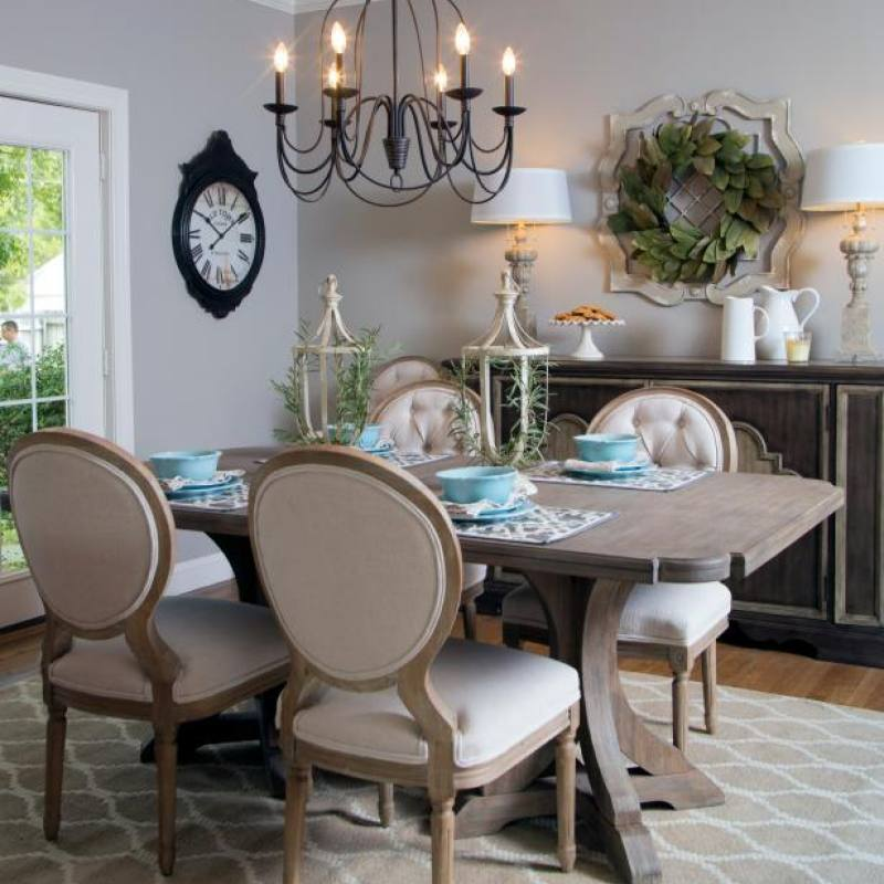 Fixer Upper Purks dining room