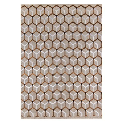 Cielo Jagger Geometric Woven Accent Rug - Momeni