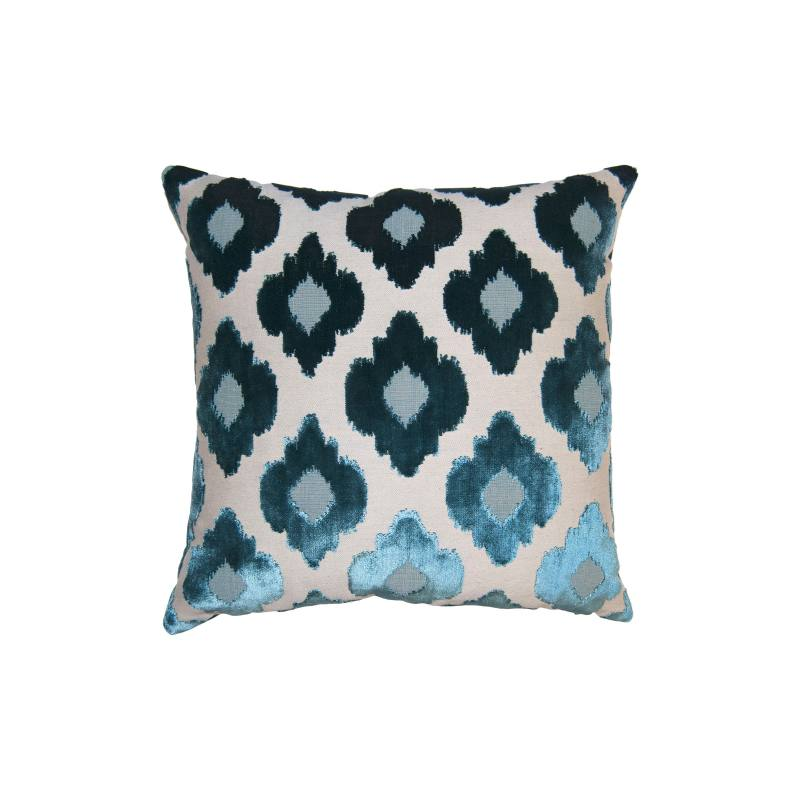 Sky Flowers Accent Pillow