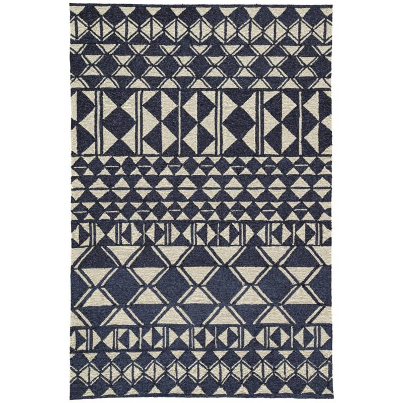Illi Indoor/Outdoor Rug, Navy
